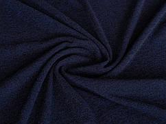 Ткань Трикотаж ангора корейская, темно-синий