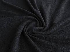 Ткань Трикотаж ангора Арктика, черный