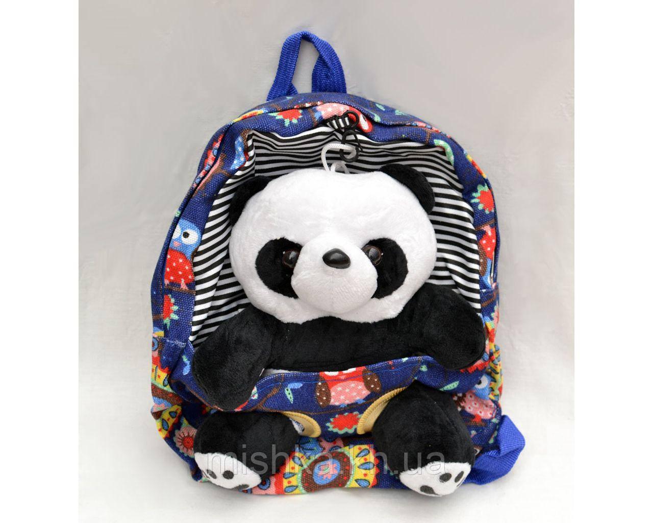 Рюкзак с мягкой игрушкой Панда