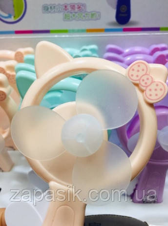 Ручной Вентилятор Hello Kitty Детский Маленький Игрушечный Вентилятор 12 Шт В Упаковке