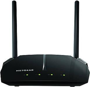 Маршрутизатор Netgear R6120 AC1200 Dual Band WiFi Router Черный (R6120-100PES)