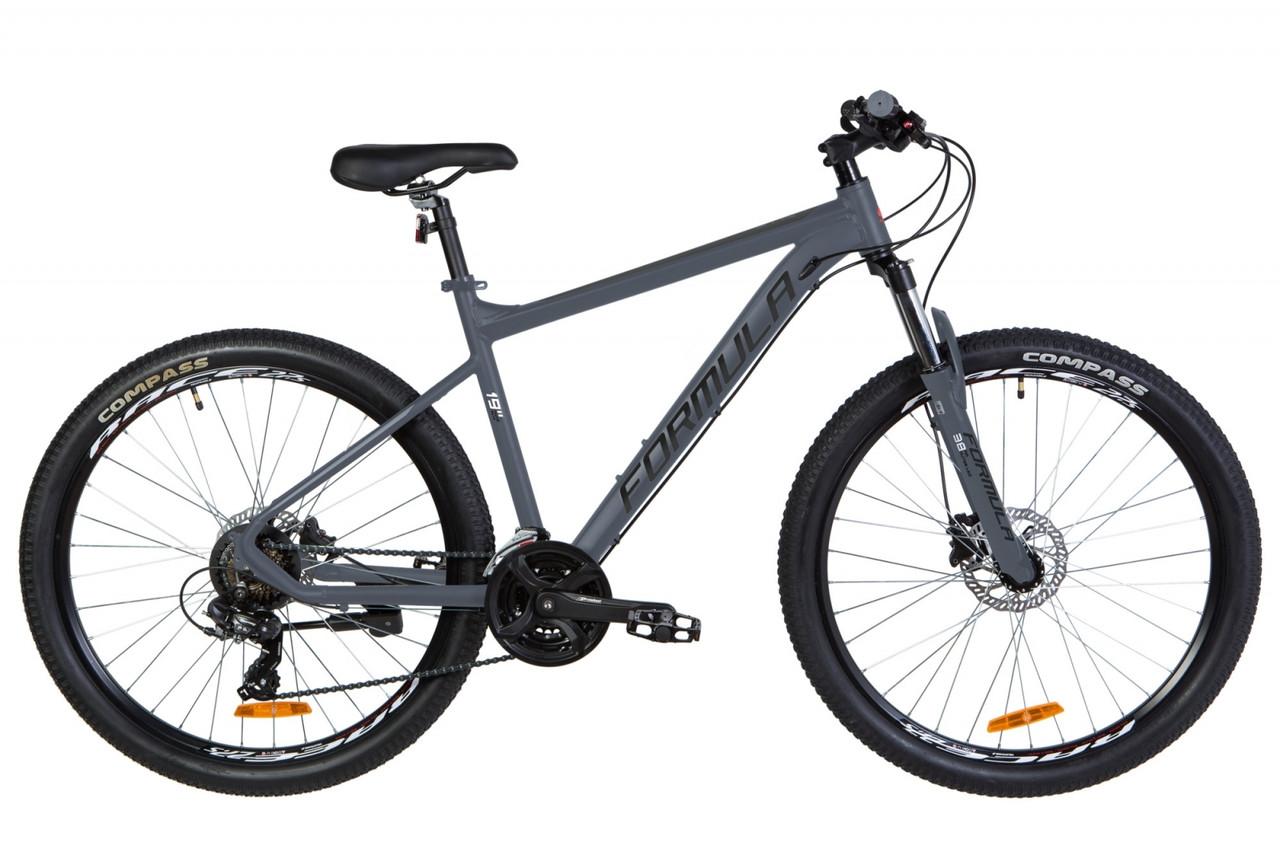 """Горный велосипед AL 27.5"""" Formula F-1 AM DD 2020 (графитовый (м))"""
