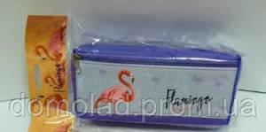 Пенал Школьный С Фламинго
