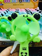 Ручной Вентилятор В Виде Медвежонка Детский Маленький Игрушечный Вентилятор 24 Шт В Упаковке