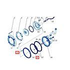 Kripsol Комплект шурупов для прожектора PHM/PLM Kripsol RUWL1416.00R, фото 2