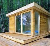 Деревянные беседки 2,25х2,25х2,8 недорого оптом для дачи от производителя Wood Gazebo 002, фото 5
