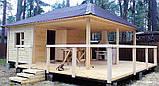 Деревянные беседки 2,25х2,25х2,8 недорого оптом для дачи от производителя Wood Gazebo 002, фото 6