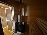 Деревянная мобильная баня 6х2,4 м под ключ, фото 4