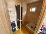 Деревянная мобильная баня 6х2,4 м под ключ, фото 6