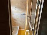 Деревянная мобильная баня 6х2,4 м под ключ, фото 7