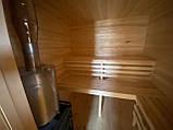 Деревянная мобильная баня 6х2,4 м под ключ, фото 9