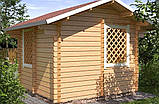 Беседка деревянная из профилированного бруса 3х3 низкая цена от производителя, фото 3