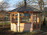 Домик садовода из профилированного бруса 3х4 м. низкая цена от производителя, фото 4
