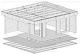 Беседка деревянная из профилированного бруса 5.2х6 м. низкая цена от производителя, фото 6