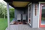 Беседка деревянная из профилированного бруса 5.2х6 м. низкая цена от производителя, фото 7