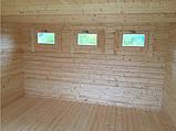 Беседка деревянная из профилированного бруса 5х8 м. низкая цена от производителя, фото 5