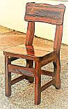 Деревянные садовые стулья, барные стулья для кафе 450х370 от производителя для дачи, кафе  Wooden chair - 01, фото 2
