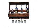 Полка для бутылок, винные стойки 1200*500*150, фото 2