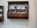 Полка для бутылок, винные стойки 1200*500*150, фото 5