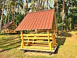 Беседка деревянная восьмигранная, фото 10