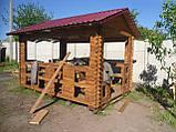 Беседка деревянная, фото 8