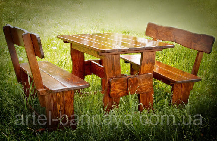 Стол деревянный для кафе, баров, ресторанов 2200*800 от производителя