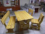 Стол деревянный для кафе, баров, ресторанов 2200*800 от производителя, фото 3