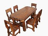 Стол деревянный для кафе, баров, ресторанов 2200*800 от производителя, фото 4