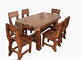 Стол деревянный для кафе, баров, ресторанов 2200*800 от производителя, фото 5