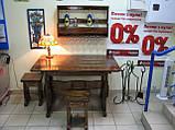 Стол деревянный для кафе, баров, ресторанов 2200*800 от производителя, фото 8