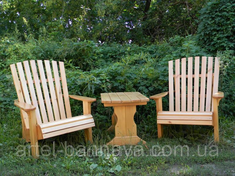 Комплект деревянный для отдыха от производителя