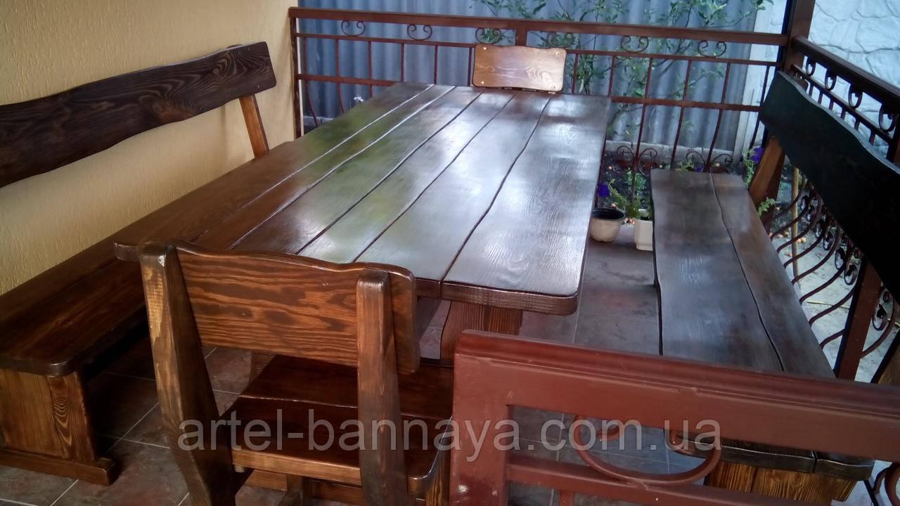 Деревянная мебель для беседок и мангалов в Александрие от производителя