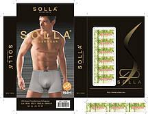 Труси чоловічі бамбук Solla розмір L-4XL (від 24 шт)