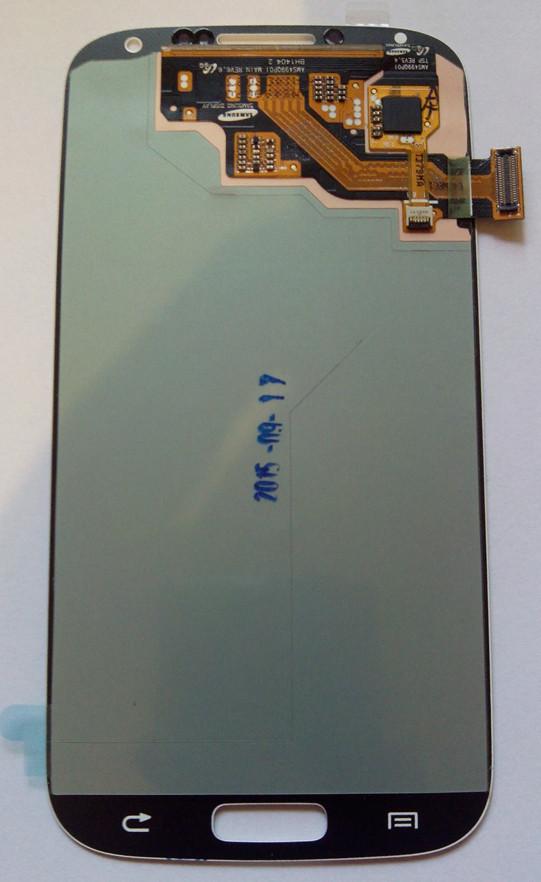 Дисплей модуль Samsung i9500 i9505 Galaxy S4 в зборі з тачскріном, темно-синій