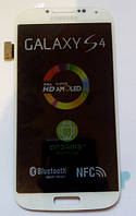 Дисплей модуль Samsung i9500 i9505 Galaxy S4 в зборі з тачскріном, білий