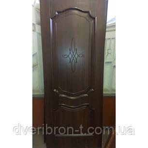 Двери Новый Стиль Рока глухое каштан, коллекция Интера DeLuxe, фото 2