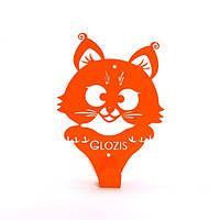 Вешалка Оранжевый кот