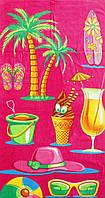 Пляжное полотенце Пляжный коктейль