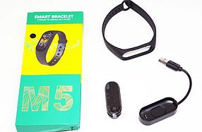 Xiomi Mi Band 5 Фітнес браслет смарт годинник Спортивний трекер м5 (копія)