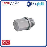 Заглушка PPR Berke резьбовая 3/4 дюйма (3.4040.31.025)