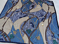 Платок Hermes тяжёлый шёлк 100%, фото 1