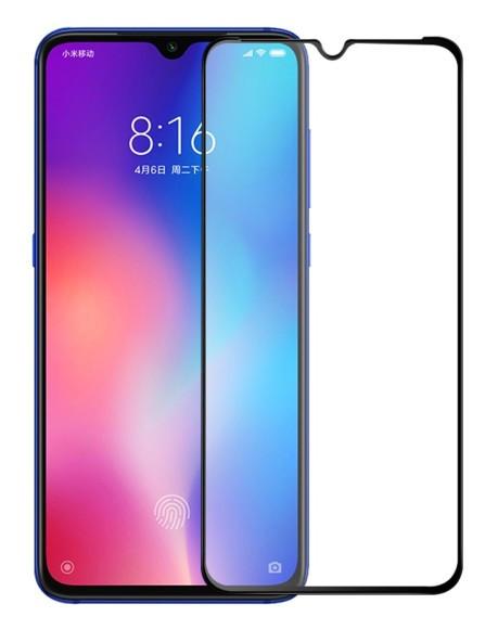Защитное стекло для Xiaomi Mi 9 Lite Full Glue (0.3 мм, 2.5D черное)