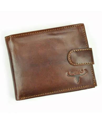 Мужской кожаный кошелек Wild N992L-VTU, фото 2