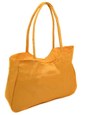 Жіноча яскрава пляжна містка текстильна сумка Case 08s05m1330 жовта, фото 2