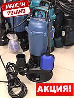 Насос дренажно-фекальный с измельчителем GRAND WATER WQD-C-13-10-2.5кВт