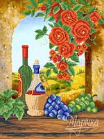 РКП-433 Вино из Тосканы. Схема для вышивания бисером