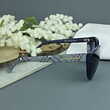 Солнцезащитные очки с поляризацией Burberry синие, фото 9