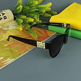 Коричневые женские солнцезащитные очки с поляризацией Louis Vuitton, фото 9