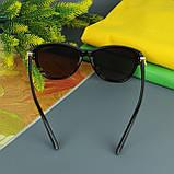 Коричневые женские солнцезащитные очки с поляризацией Louis Vuitton, фото 10