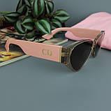 Солнцезащитные очки коричневого цвета с поляризацией CD, женские, фото 8